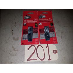 Pack of Concrete Drill 3/16''