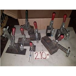 Lot of Vertical Clamp