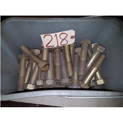 Box of Brass Bolt 1""