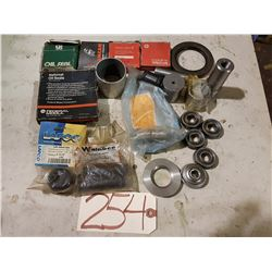 Lot of Assorted Parts & Bearing