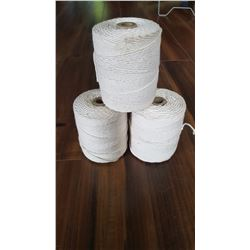 Lot of 3 brand new string line approx 500' rool