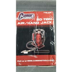 Brand new in box 20 tons air and hand jack
