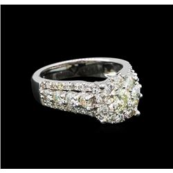 14KT White Gold 2.65 ctw Diamond Ring
