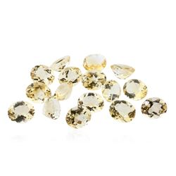 69.71 ctw Oval Cut Citrine Quartz Parcel