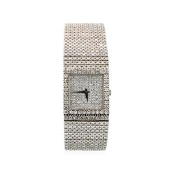 Vintage Piaget 18KT White Gold Diamond Watch