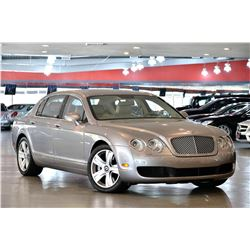 2007 Silver Bentley Continental Flying Spur Sedan
