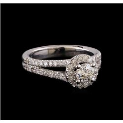 1.06 ctw Diamond Ring - 14KT White Gold