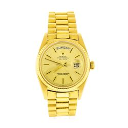 Rolex 18KT Gold President DayDate Men's Watch