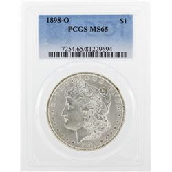 1898-O PCGS MS65 Morgan Silver Dollar