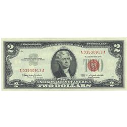 1963 $2 XF/AV Red Seal Note