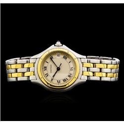 Cartier 18KT Two-Tone Cougar Ladies Watch
