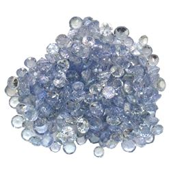 18.33 ctw Round Mixed Tanzanite Parcel