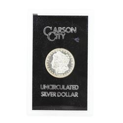 1878 Carson City Uncirculated Silver Dollar