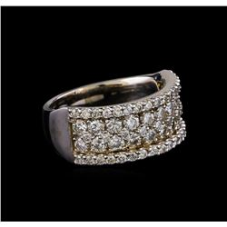 1.89 ctw Diamond Ring - 14KT White Gold
