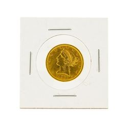1901-S $5 CU Liberty Head Half Eagle Gold Coin