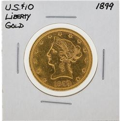 1899 $10 Liberty Gold Coin