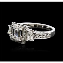 14KT White Gold 2.09 ctw Diamond Ring