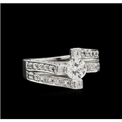 1.71 ctw Diamond Ring - 14KT White Gold