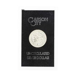 1884 Carson City Uncirculated Silver Dollar