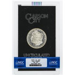1878-CC NGC MS63 Morgan Silver Dollar