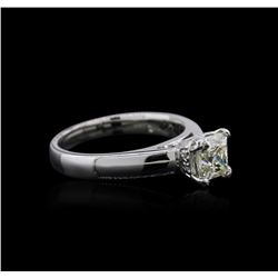 Platinum 0.93 ctw Diamond Ring