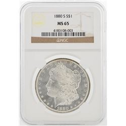 1880-S NGC MS65 Morgan Silver Dollar