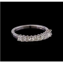 14KT White Gold Anniversary Diamond Ring