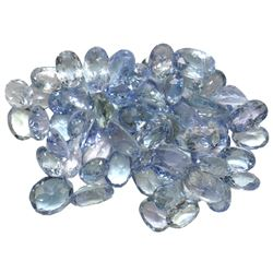 12.48 ctw Oval Mixed Tanzanite Parcel