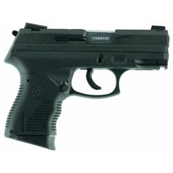 "Taurus 1809041C 809 Single/Double 9mm Luger 3.625"" 17+1 Black Polymer Grip Blued Stainless Steel"