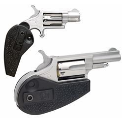 """NAA HGMC 22 Magnum Holster Grip with 22 LR Cylinder Single 22 Winchester Magnum Rimfire (WMR) 1.6"""" 5"""