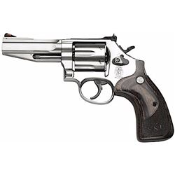 "Smith & Wesson 178012 686 Pro SSR Single/Double 357 Magnum 4"" 6 Wood Stainless"