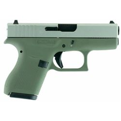 "Glock UI4250201FGN G42 Double 380 Automatic Colt Pistol (ACP) 3.25"" 6+1 Forest Green Poylmer Grip St"