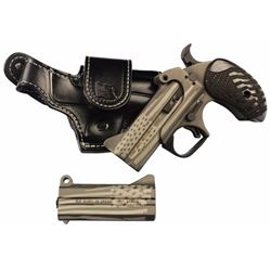 """Bond Arms OLDGLORY Old Glory Package Semi-Automatic 2 3.5"""" 45/410, 357/38 American Flag with Leather"""