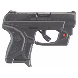 "Ruger 3758 LCP II with Viridian Red Laser Single/Double 380 Automatic Colt Pistol (ACP) 2.75"" 6+1 Bl"