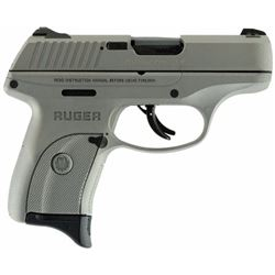 "Ruger 3252 LC9s Double 9mm Luger 3.12"" 7+1 3-Dot Savage Stainless Cerakote Grip/Frame Grip Savage St"