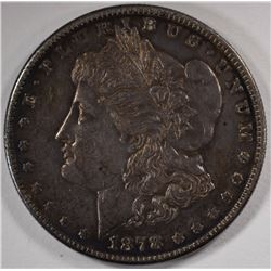1878-S MORGAN SILVER DOLLARS, CHOICE BU BETTER DATE