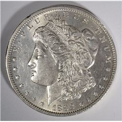 1893 MORGAN SILVER DOLLAR CH BU  KEY COIN