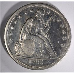 1859-O SEATED LIBERTY DOLLAR AU