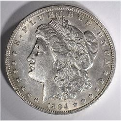 1894-O MORGAN SILVER DOLLAR AU  SEMI--KEY