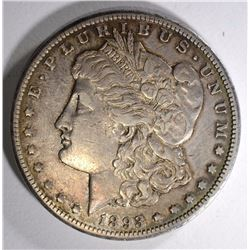 1893-CC MORGAN SILVER DOLLAR XF  KEY COIN, VERY NICE
