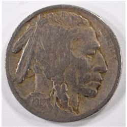 1913-S TYPE-2 BUFFALO NICKEL, FINE  KEY DATE!