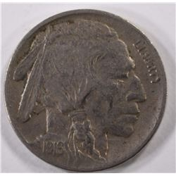 1916-D BUFFALO NICKEL, XF