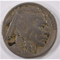 1917-S BUFFALO NICKEL, VF