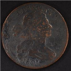 1807 LARGE CENT - VG 180 DEGREE ROTATED DIE