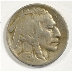 1926-S BUFFALO NICKEL VF  KEY DATE!