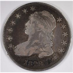 1828 Bust Quarter VF-XF Nice Color