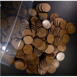 ( 1000 ) MIXED DATE LINCOLN WHEAT  CENTS FROM THE 1930'S