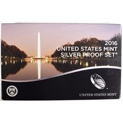2016 U.S. MINT SILVER PROOF SET IN ORIGINAL PACKAGING