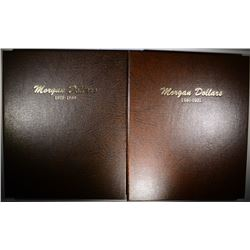 NICE SET OF USED MORGAN DOLLAR DANSCO ALBUMS