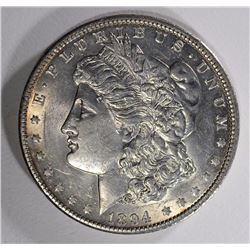 1894-O MORGAN DOLLAR BU LIGHT CLEANING